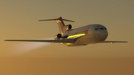 727 in flight lr
