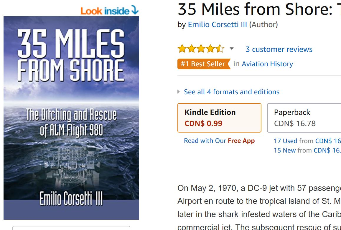 35 Miles From Shore is making a splash!